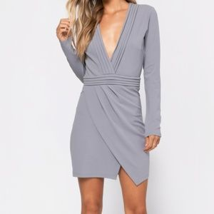 Grey Dress - TOBI (small)